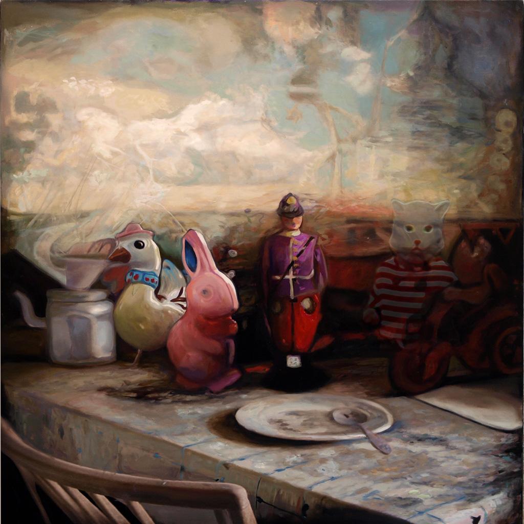 frederic deprun artiste peintre - lyon - france